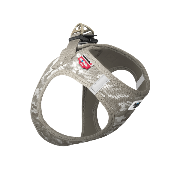 curli Vest Harness Air-Mesh Pale-Camo