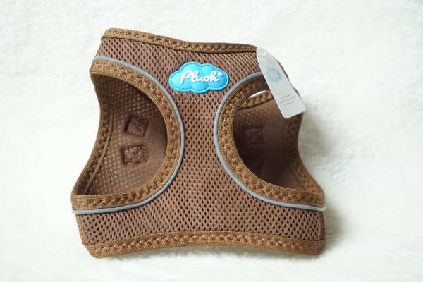 Plush Step In Air Mesh Harness Toffee