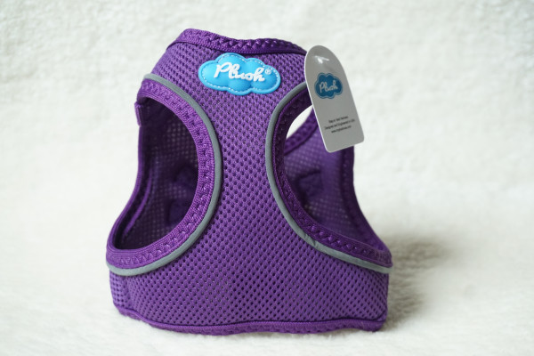 Plush Step In Air Mesh Harness Purple