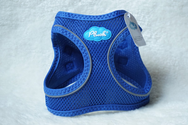 Plush Step In Air Mesh Harness Lapis Blue