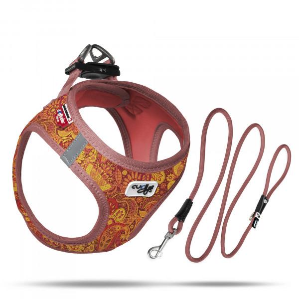 curli Vest Harness Air-Mesh Ruby